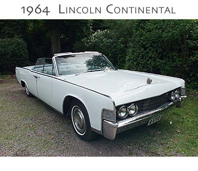 1964 lincoln continental vintage wedding cars uk. Black Bedroom Furniture Sets. Home Design Ideas